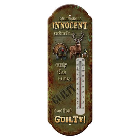 rivers edge products if you rivers edge products 1329 tin thermometer innocent animals