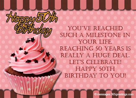 Happy Fifty Birthday Wishes 50th Birthday Wishes And Messages 365greetings Com