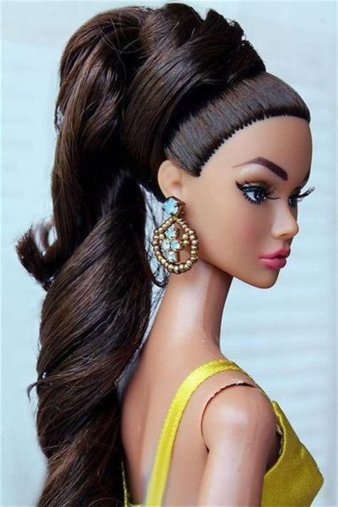Poppy Hairstyle Doll by Doll Hair Inspired Styles