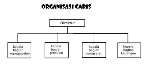 membuat bagan struktur organisasi garis lini pengertian organisasi ciri ciri unsur organisasi dan
