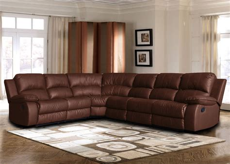 http furnituredirects2u com living room category sectional sofas large bonded leather sectional sofa with reclining end