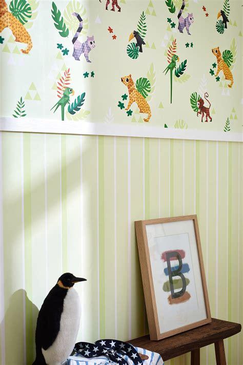 chambre bébé promo papier peint chambre bebe