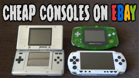 3ds console cheap how i buy cheap consoles from ebay psp 3ds gameboy