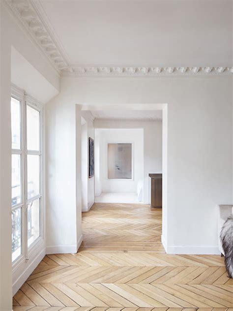 Hardwood Floor Apartment Inspiration Herringbone Chevron Wooden Floors The Style Files
