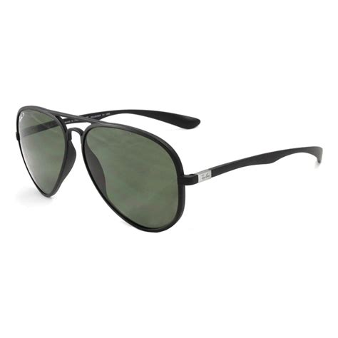Jual Ban Liteforce ban rb4180 liteforce aviator sunglasses matte black money in the banana stand