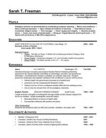 Exle Of A Chronological Resume by Resume Writing 101 Pt 2
