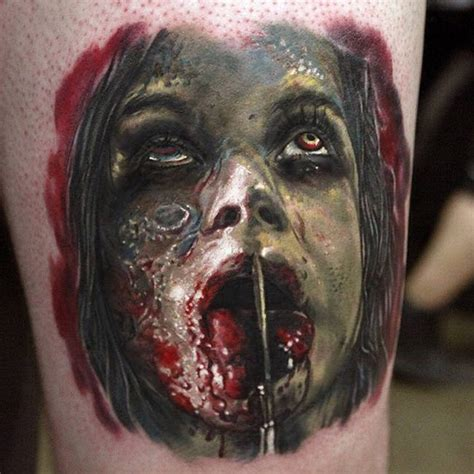 27 truly terrifying tattoos people actually have
