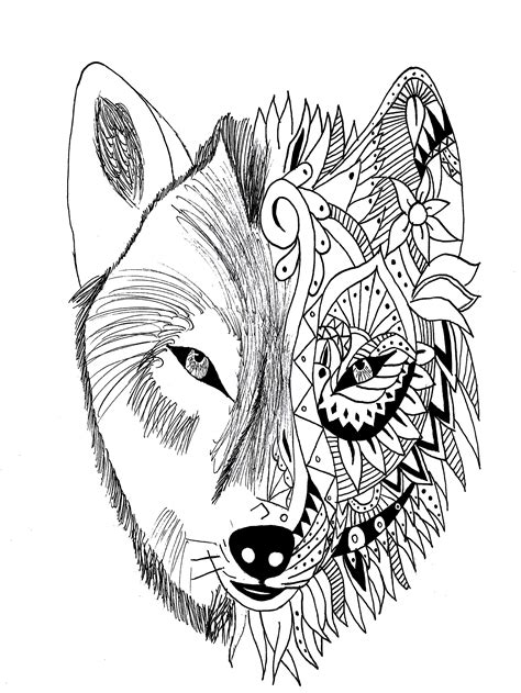 tattoo coloring books wolf krissy tattoos coloring pages