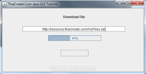 java swing progress bar how to use java gui download file and progress bar