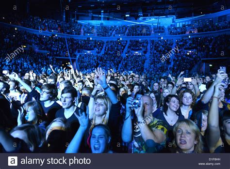 french house music fans cheer during a concert of french house music producer