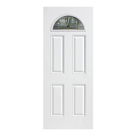 Lowes Prehung Exterior Doors Shop Reliabilt Lite Clear Outswing Fiberglass Entry Shop Reliabilt 3 4 Lite Decorative