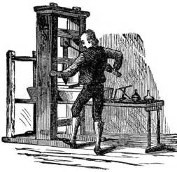 Style It In The Press by Gutenberg S Printing Press And Procedure