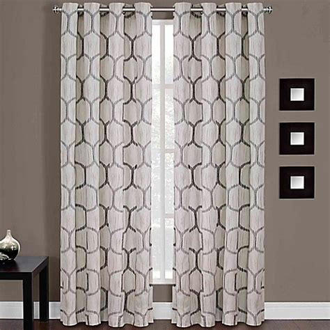 84 inch window curtains buy portinari grommet top 84 inch window curtain panel in