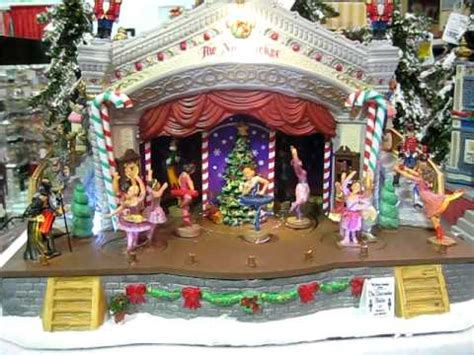 lemax nutcracker suite animated musical 2011 youtube