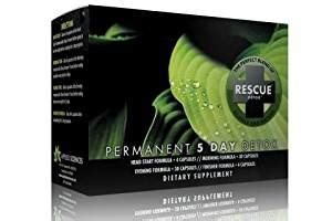 Rescue Detox 5 Day Permanent Detox Kit Reviews by Rescue Detox Permanent 5 Day Detox By Applied Sciences By