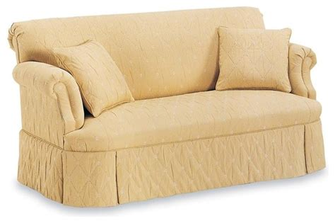 tight back sofa w tight seat fabric caf 233 traditional sofas