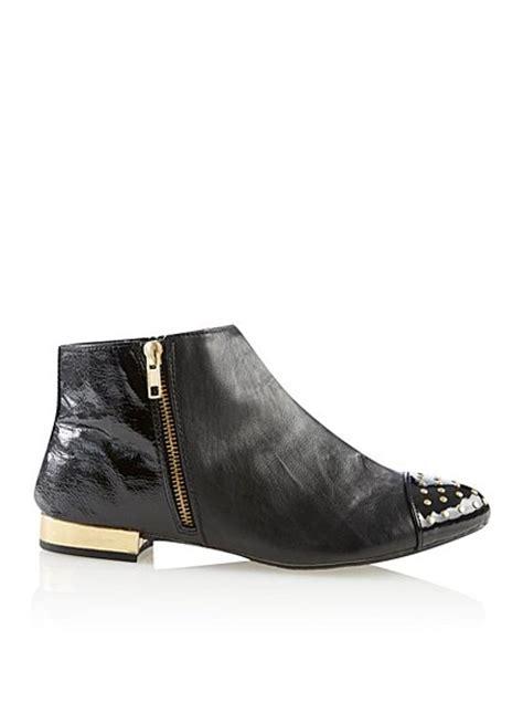 stud block heel boots george at asda
