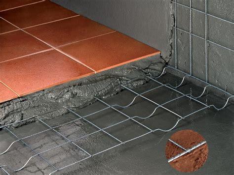 caldana pavimento rete elettrosaldata pavitec professional gruppo cavatorta