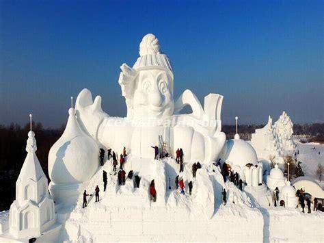 harbin ice festival china s spectacular harbin snow and ice festival never