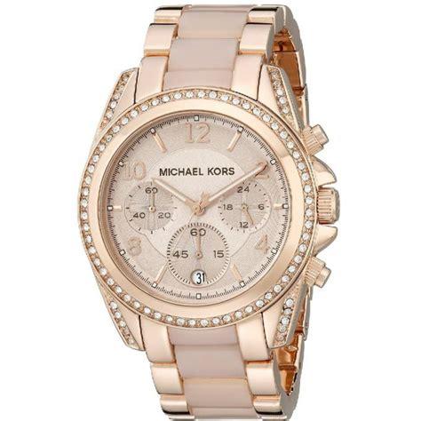 montre michael kors blair mk5943 montre chronographe analogique femme sur bijourama montre