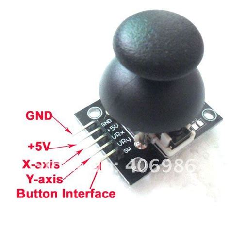 dual axis xy joystick module  arduino dropshipping