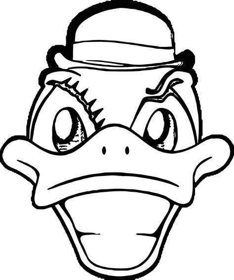 duck face coloring page 100 daisy duck head coloring pages triangle