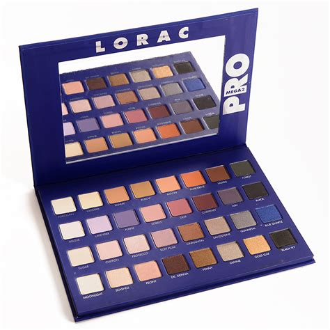 Lorac Eyeshadow Pro Palette 2 lorac mega pro 2 palette eye shadow limited edition fast