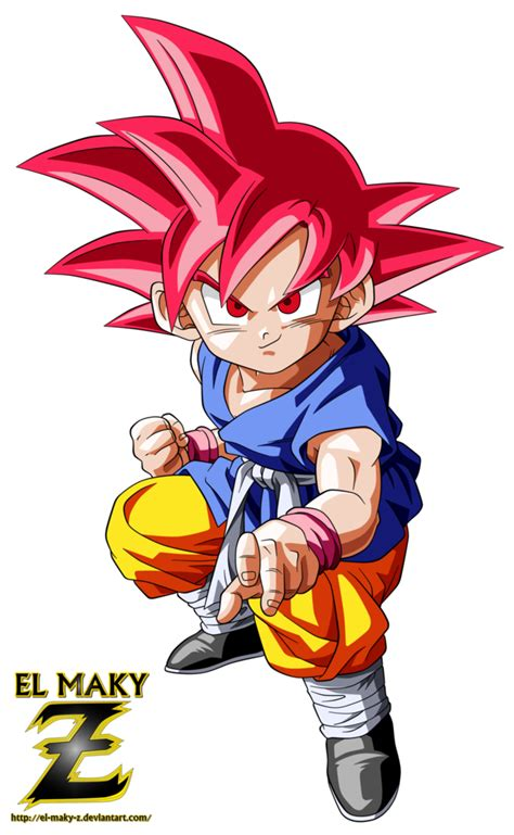 ki goku imagenes whatsapp kid goku gt super saiyan god by el maky z on deviantart