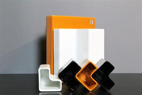 ceramic desk accessories ceramic desk accessories by aldo cotti for tronconi 1970