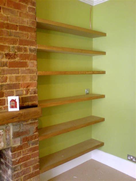 pictures of shelves fitted floating shelves 187 richard sothcott brighton carpentry