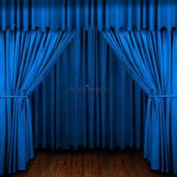 Blue stage curtains blue stage curtain photography