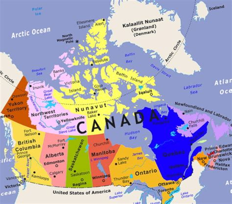 states of canada map maps may 2012