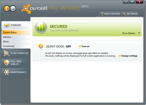 free download avast antivirus 2009 full version update download avast 5 free antivirus beta