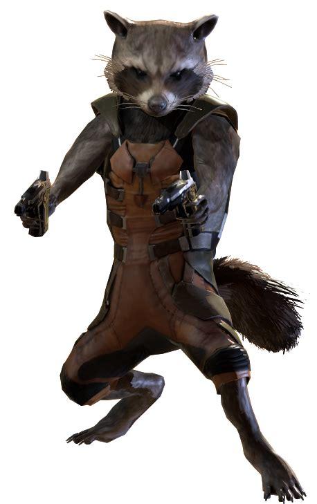 marvel film with raccoon rocket raccoon marvel heroes complete costume list