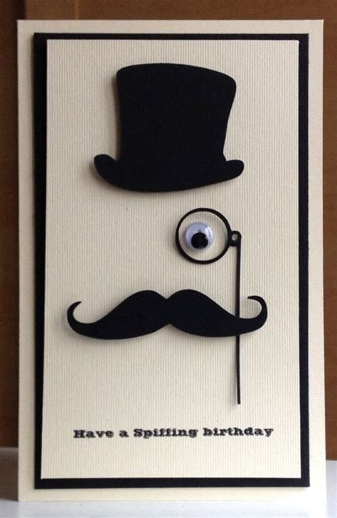 Cool Birthday Cards For Guys 25 Unique Birthday Cards For Men Ideas On Pinterest