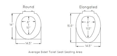 Dimension Bidet by Bidetking Bidet Toilet Seat 101 Seat Size
