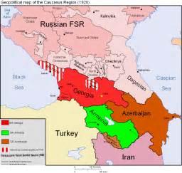 map of caucasus caucasus mappery