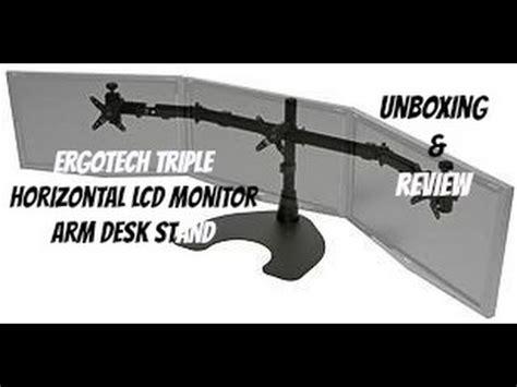 Ergotech Videolike Ergotech Horizontal Lcd Monitor Arm Desk Stand
