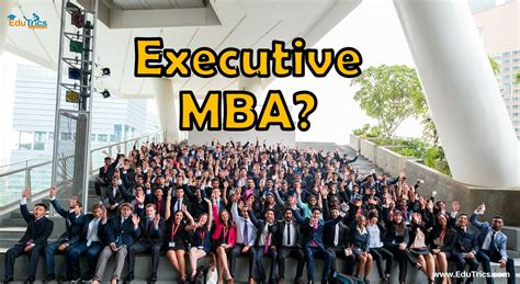 Aws Mba Internship by Thinking About Executive Mba After Edutrics