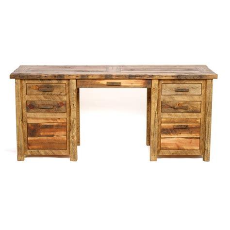 Repurposed Wood Desk by Colorado Reclaimed Barnwood Desk