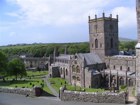Church For St Davids Day 2 by St Davids Cathedral Pembrokeshire West Wales Wales St