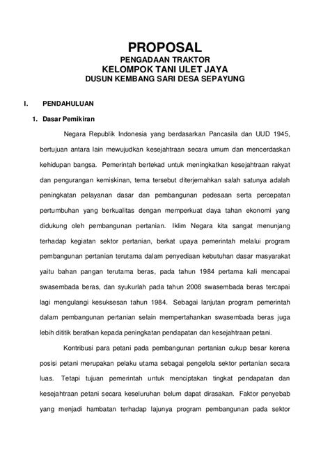 Contoh Proposol Bantuan Dana Upload Share And Discover | contoh proposol bantuan dana upload share and discover