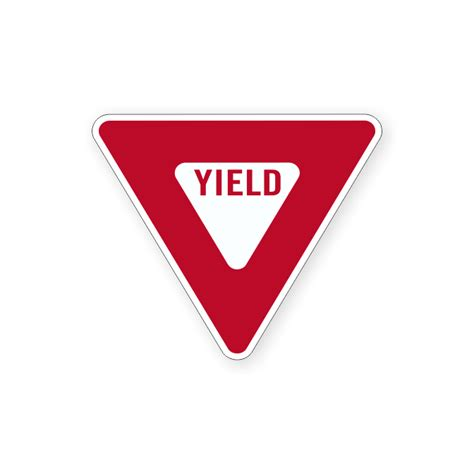 yield sign color customers suncor base plant suncor roads and