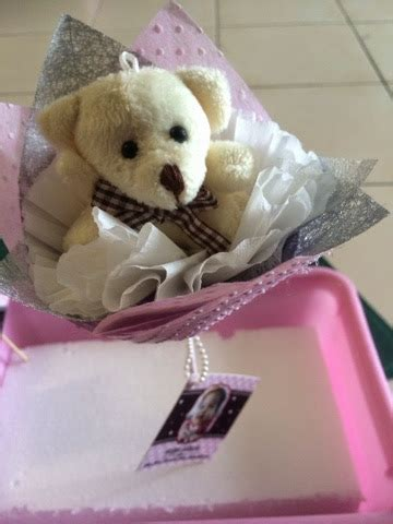 Kl Of Halo Wrapping Bunga wansteddy tales tutorial bunga telur teddy