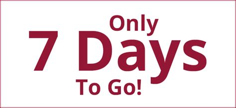 seven days only 7 days to go keighley business awards