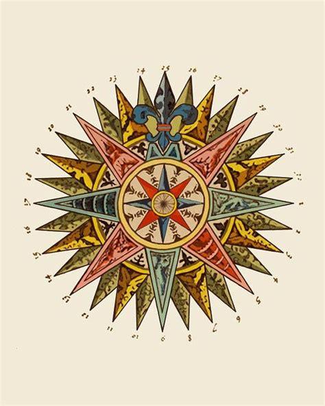 printable nautical star nautical star art print nautical compass art nautical