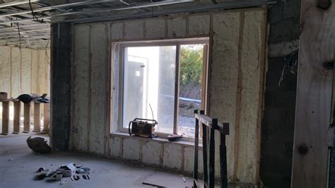 Insulating Wooden Shed by Shed Insulation Experts Spray Foam Services