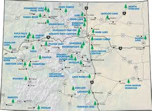 colorado state cus map colorado state and national parks