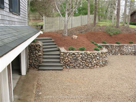 Landscape Timbers Cape Cod Viewing Album Steps And Retaining Walls