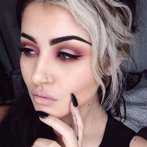 Wardah Eye Brow Black 1 14 Gr best 25 grunge makeup ideas on grungy makeup eyeshadow and soft grunge makeup